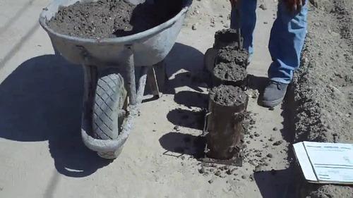 muestreo, ensayo de concreto, extraccion nucleos, suelos