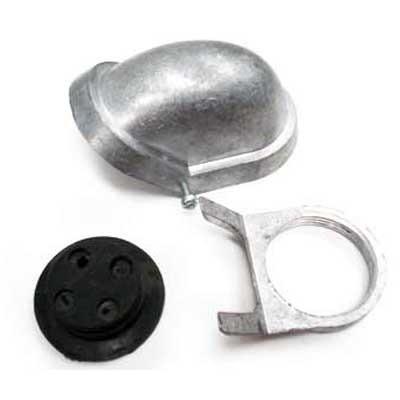 mufa de aluminio 1¼  económica fulgore.