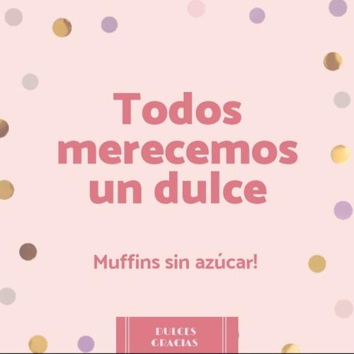 muffins sin azúcar