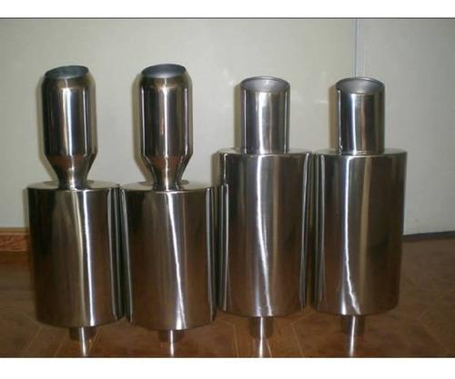 muffler resonadores  de acero inoxidable