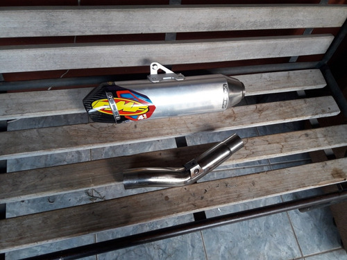 mufla fmf factory 4.1 rct cono en fibra para 4t