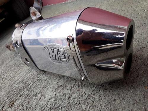 mufla motocicleta marca mz