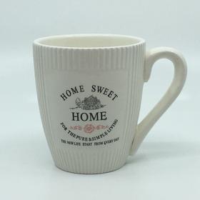 Mug Cerámica Beige Linea Sweet Home Be74