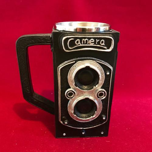 mug de cámara retro