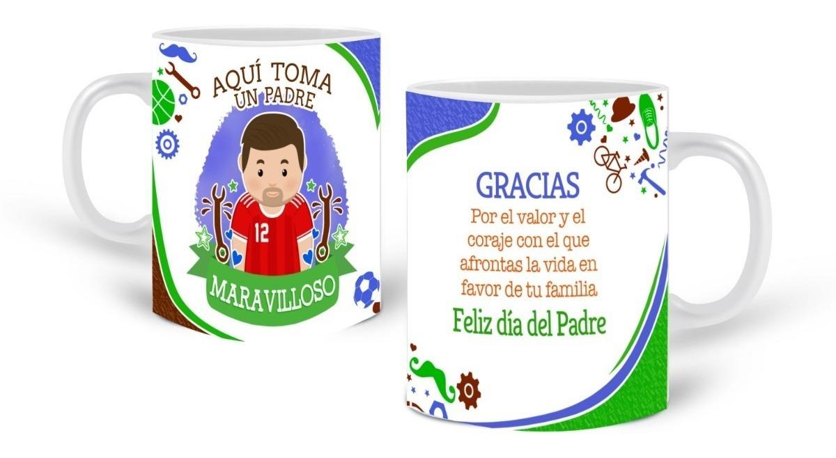 Mug Pocillo Personalizado Profesiones Logos Día Del Padre 4500