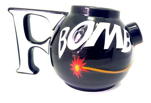 mug taza pocillo f bomba gamer geek novedad
