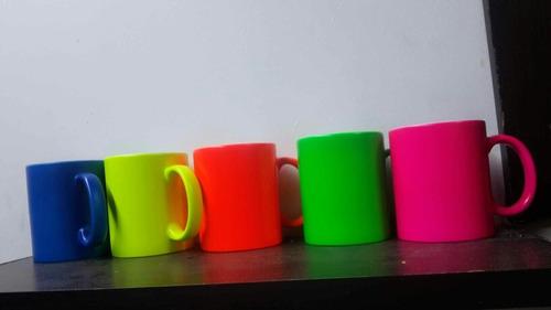 mugs de sublimacion  neon 11 onz