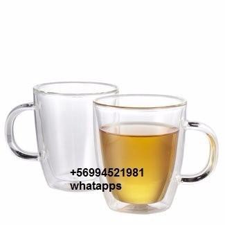 mugs de vidrio doble cámara - varios tamaño