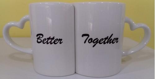 mugs pareja 11oz personalizados