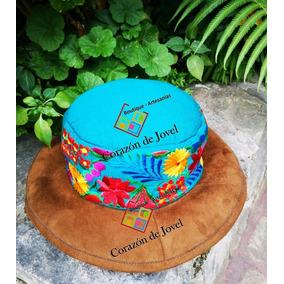 50ddacfe8e312 Sombreros Artesanales De Gamuza Con Telar Bordados- Chiapas