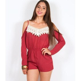 a7a4a0cdb7 Lote Paca 4 Jumpsuit Overol Jumper Mujer Mayoreo + Regalo