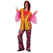 Hippie Disfraz - Señoras 60's 70's Hippy Mujeres De