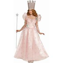 Mago De Oz Disfraz - Señoras Uk 12 Glinda La Buena Bruja