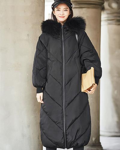 mujer abajo chaqueta de invierno
