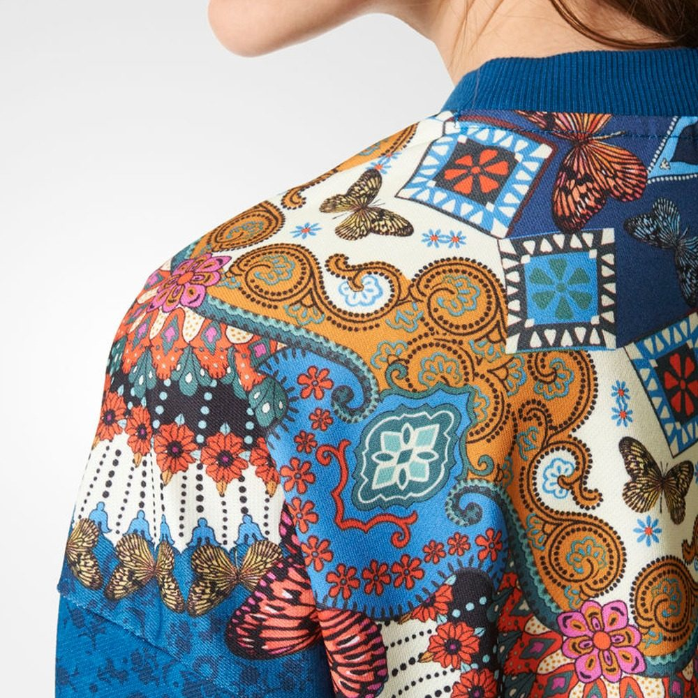 Mujer Borbomix Originals Adidas Sweat Sudadera Br5136 twqROt5