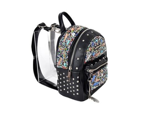 mujer art: mochila