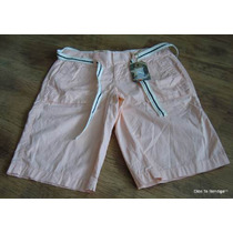 Shorts Bermudas Converse One Star A La Cadera Mujer T38 Y 40