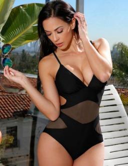 mujer bikini traje baño