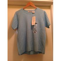 Sweter Blusa Importada Americana Para Dama Talla L . Nueva