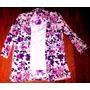 Blusa Bnx Talla S Floreada Rosada Elegante Semi Elasticada