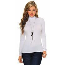 Blusa Cuello Tortuga Para Mujer, Blusas Modernas