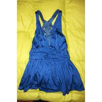Blusa Azul Topshop Talla S