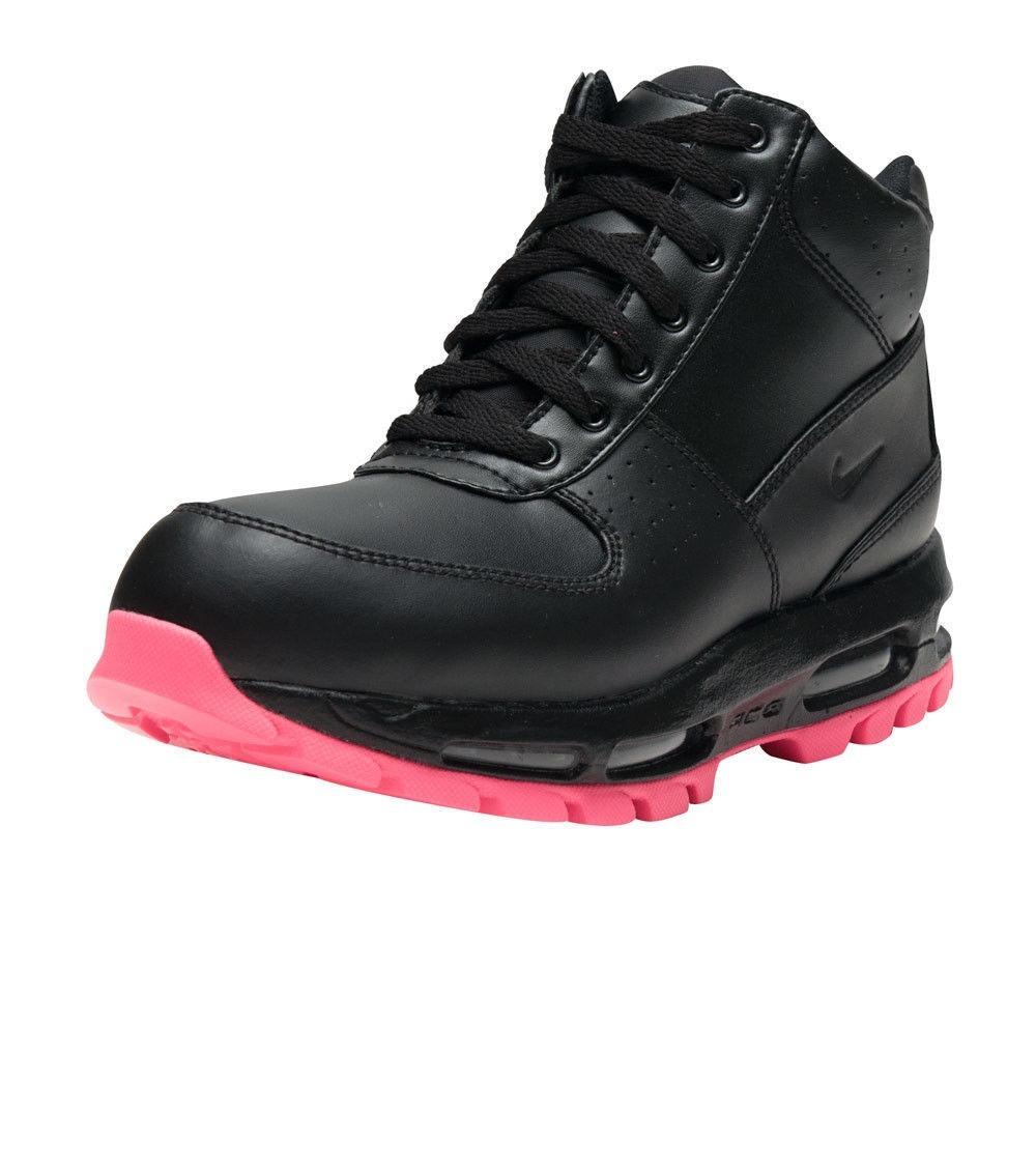 780b6afb844 mujer botas nike air max acg goadome waterproof negro rosa. Cargando zoom.