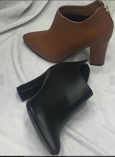 mujer botin zapato