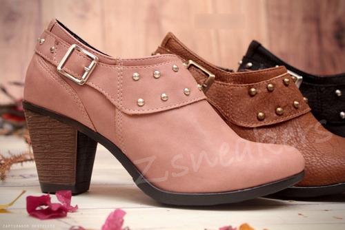 mujer botinetas botas