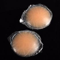 2 Tapa Pezon Senos Adhesivos Reutilizable De Silicone 6cms