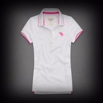 Camiseta Polo Abercrombie, Hollister (hombre) Talla L