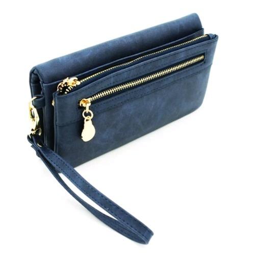 mujer cartera billetera