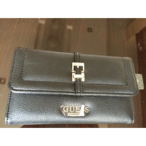 Billetera De Mujer Guess Color Negro