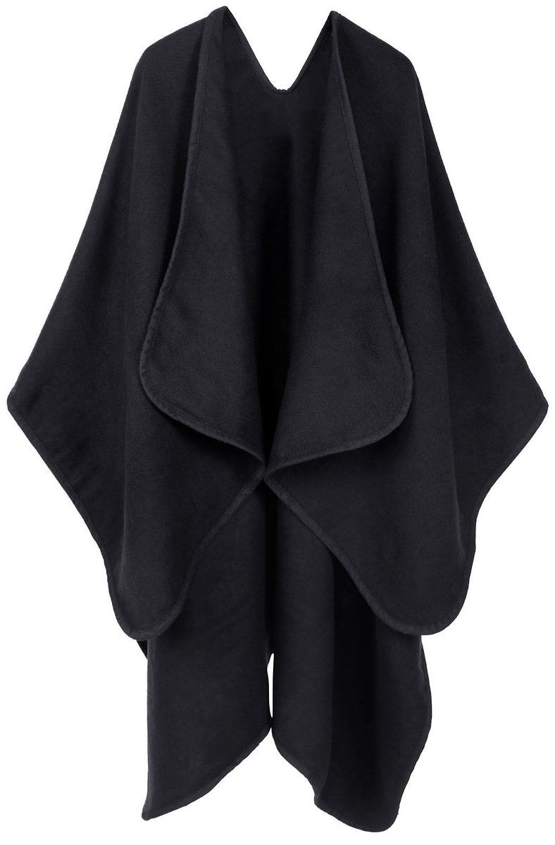 Flojo Mujer Suéter Chal 50 black Abrigo Casual 990 Kinitted 7rqSOwIrWx
