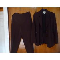 Elegante Conjunto De Blazer, Pantalón Y Blusa