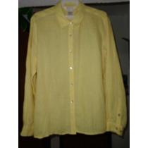 Camisa Para Dama Moda Ejecutivo Color Amarillo