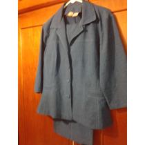 Conjunto Chaqueta/pantalon Talla 16 Plus, Tela Importada