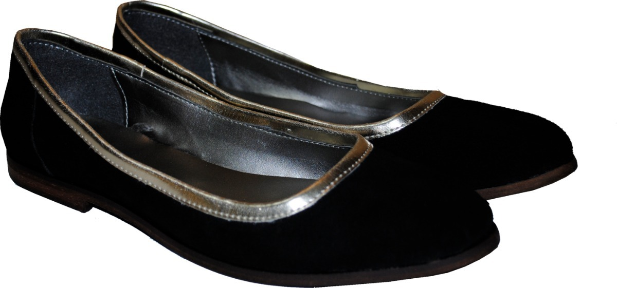 8bed5833e1c Cargando zoom... zapato mujer chatitas balerinas negras gamuza