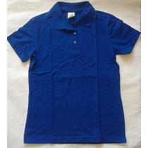 Oferta Chemise Dama Azul Rey Talla L 100% Algodon