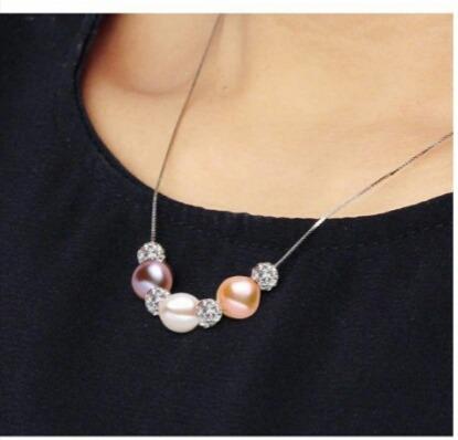 8981488f0f87 Mujer Collar Pulsera Pendientes Plata 925 Perlas Cultivadas ...