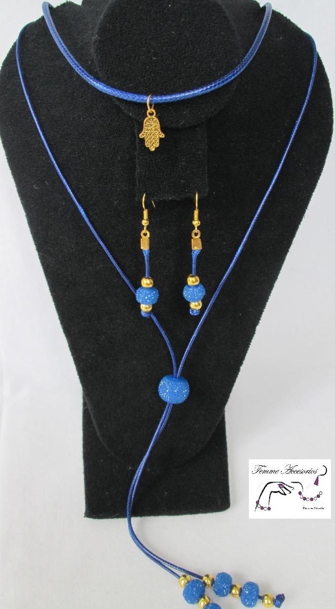 b794181510b9 mujer collares joyería bisutería collar cordón mano c118.2. Cargando zoom.