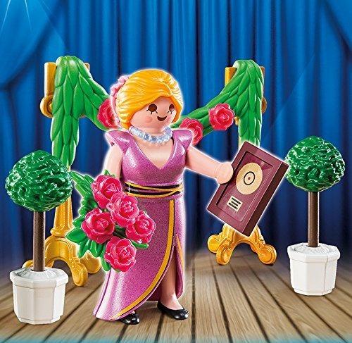 mujer con premio star feminina 4788 - playmobil
