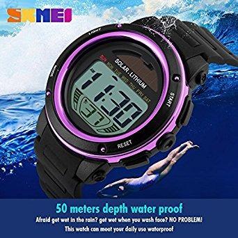 mujer deportivos reloj · mastop reloj energía solar para mujer deportivos  para niñas. Cargando zoom. f837dc8e0324