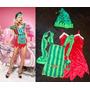 Disfraz De Viejita Pascuera O De La Señora Santa, Navidad