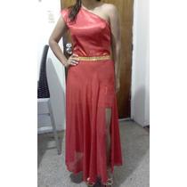 Vestido Casual Con Falda Larga