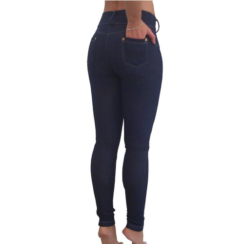 mujer jean legging calza