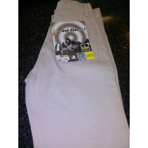 Pantalon Lois Talla 26 Beige Claro Y Oscuro, Tipo Jean, Gris