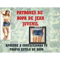 Patrones Falda Pantalon Blusa Jeans Short Vestido