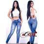 Jeans Pantalon Dama Streh Levanta Cola Confección Colombiana