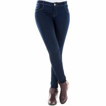 Oferta Pantalon Blue Jeans Tubito Hl Strech Azul Marino